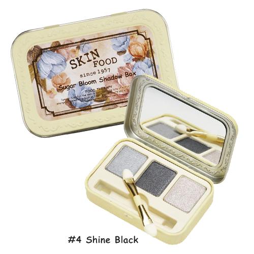 Skinfood Sugar Bloom Shadow Box  #4 Shine Black