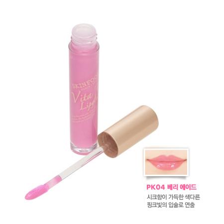 Skinfood Vita Tok Lip Gloss  #PK04