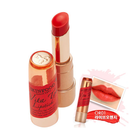 Skinfood Vita Tok Lipstick #OR01
