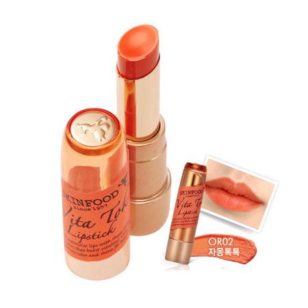 Skinfood Vita Tok Lipstick #OR02