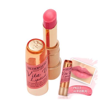 Skinfood Vita Tok Lipstick #PK03